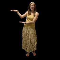 Adult Premium Hula Skirt