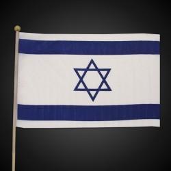 Israeli Flag - 12 Inch by 18 Inch