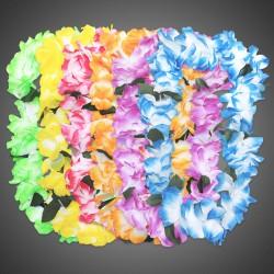 Tie Dye Flower Leis