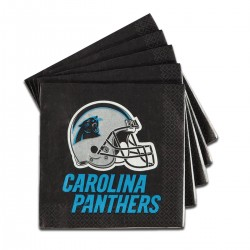 Carolina Panthers Lunch Napkins - 16 Pack