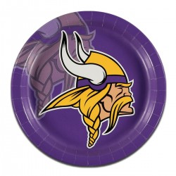 "Minnesota Vikings 9"" Plates - 8 Pack"