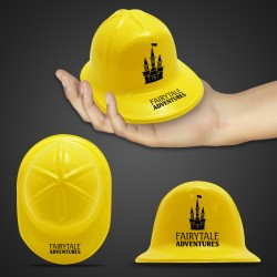 Mini Yellow Plastic Construction Hat