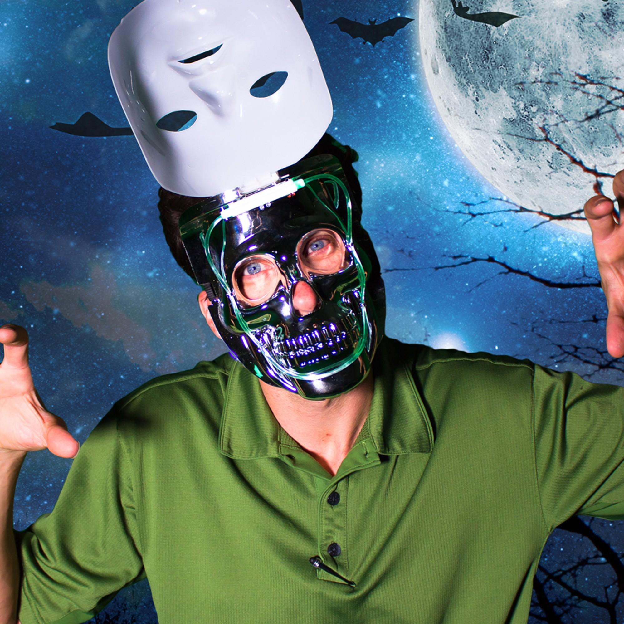 LED Double Face Mask