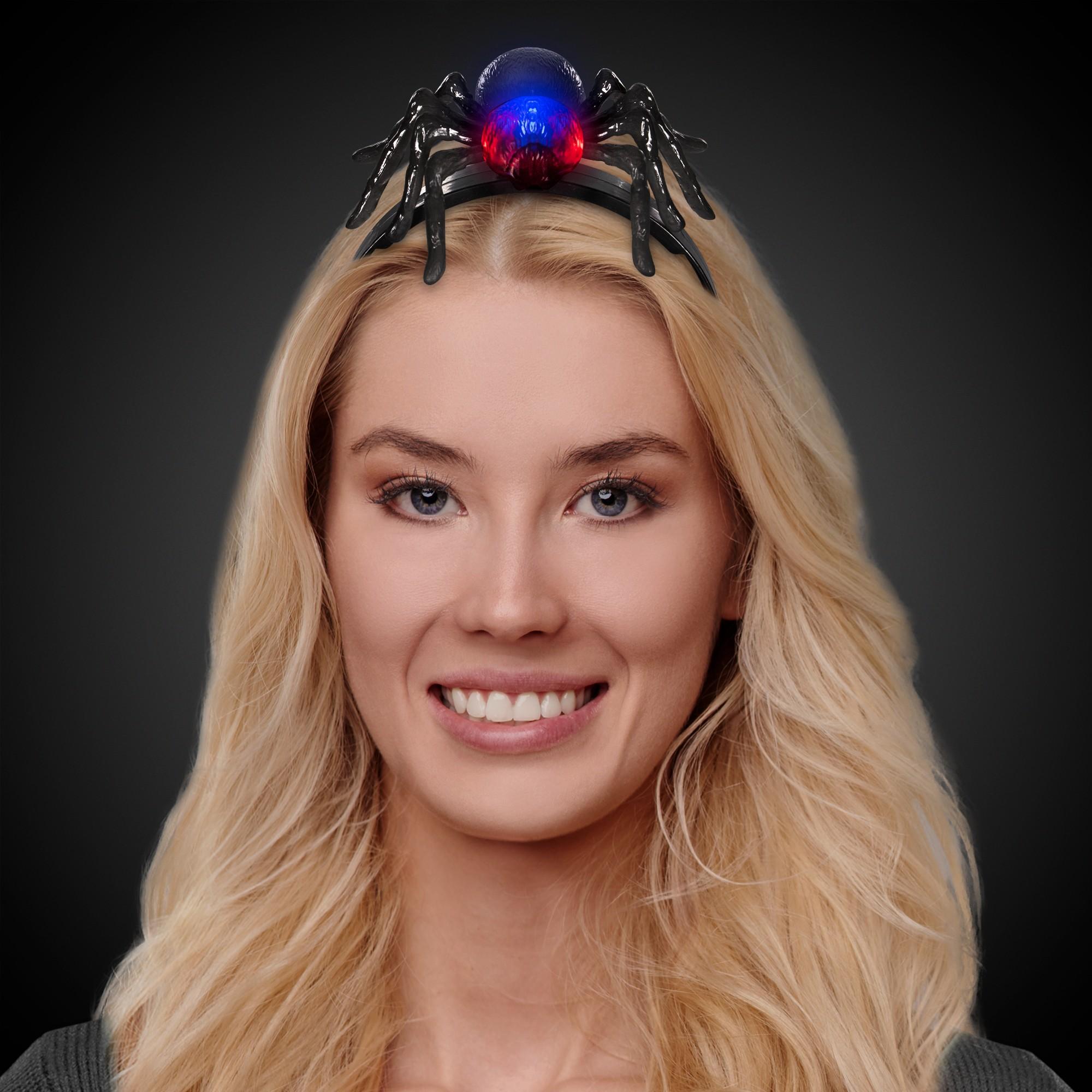 LED Spider Headbopper