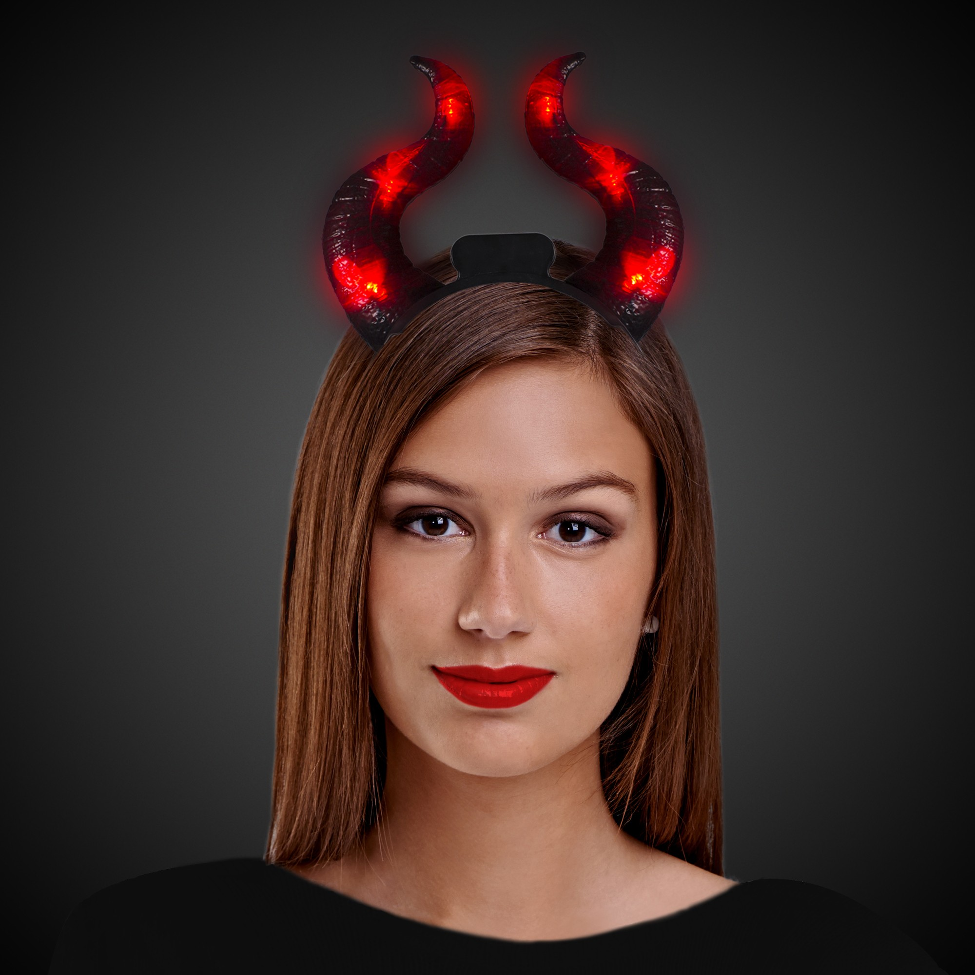 LED Devil Horn Headbopper