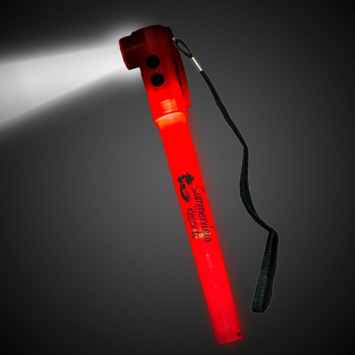 Red Safety Light Stick Flash Light
