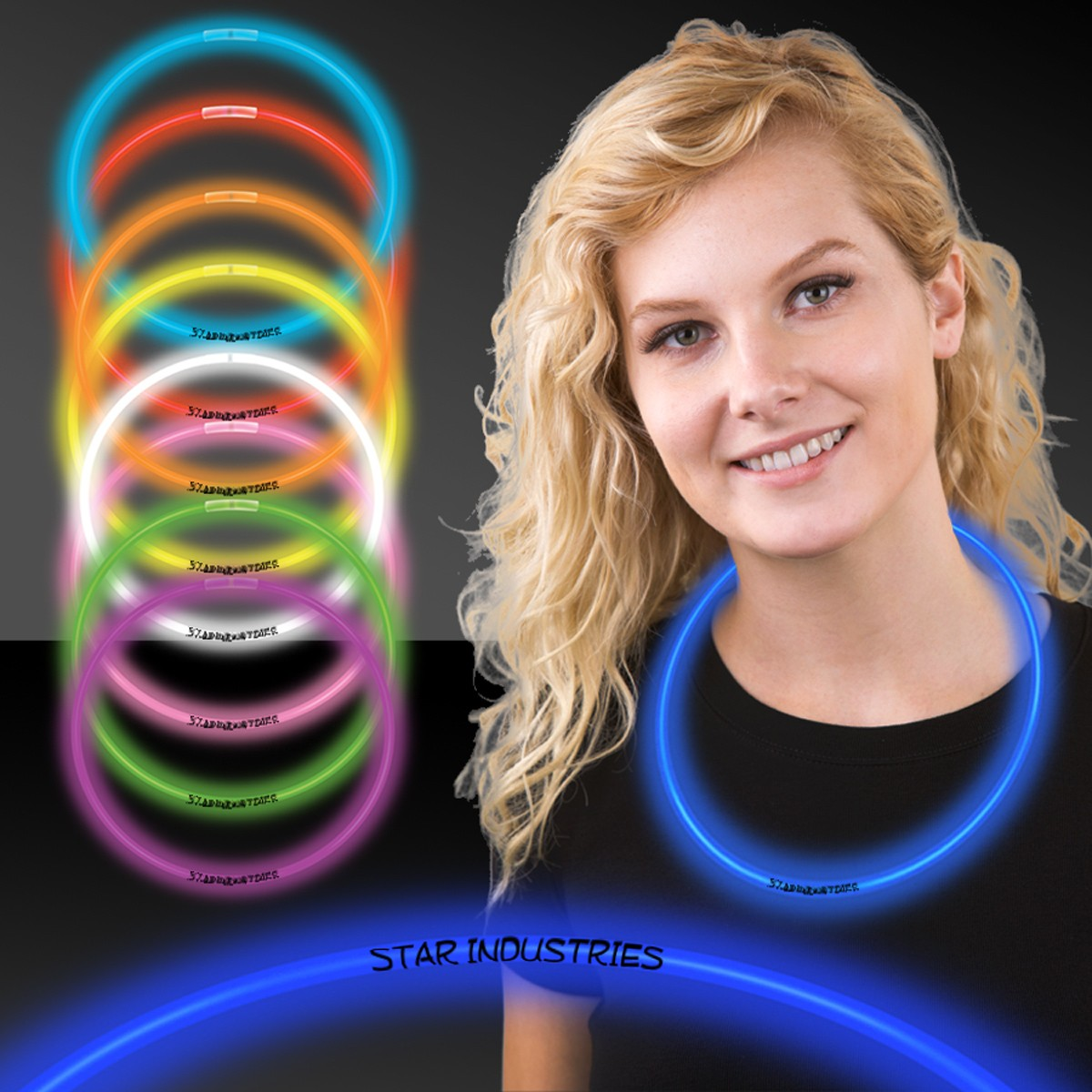 Glow Necklaces - Variety of Colors Available.