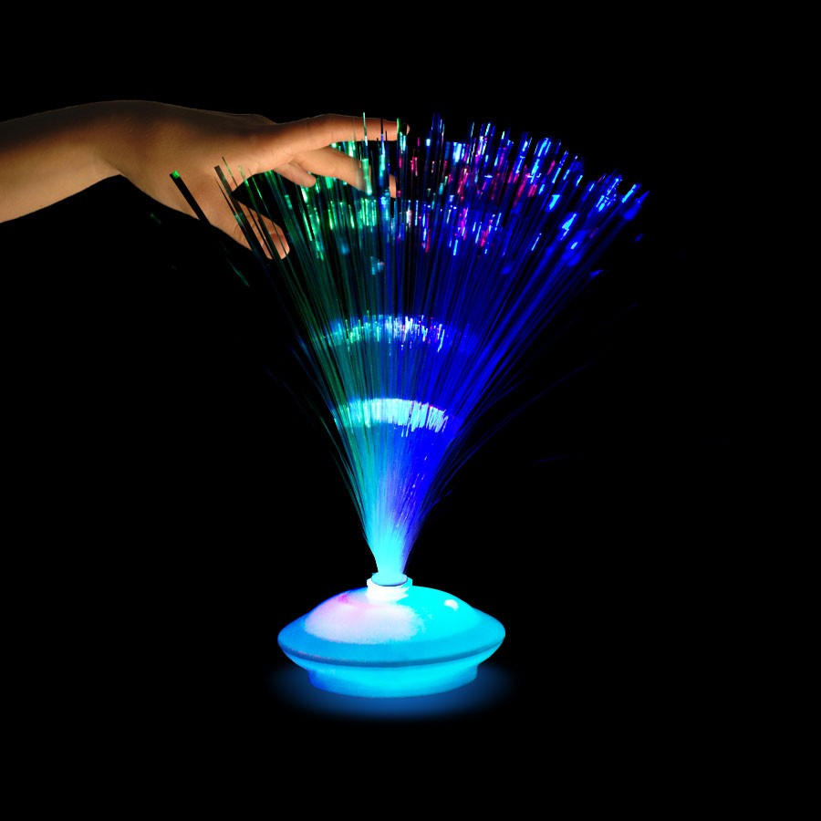 Fiber Optic Centerpiece with Light Up Base