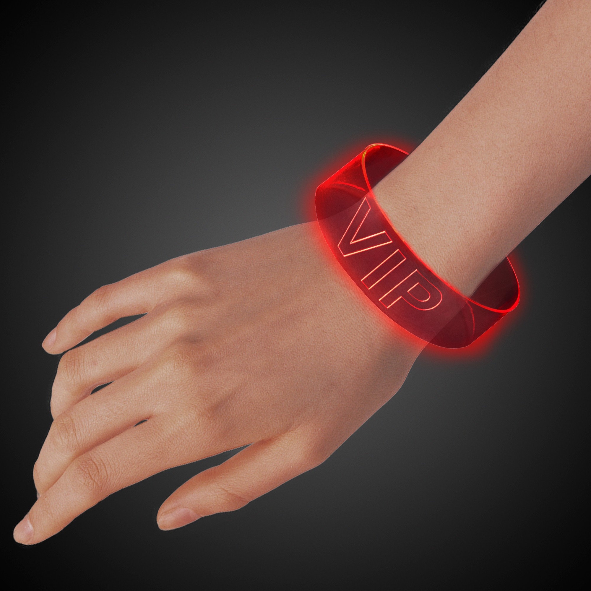 Red LED Magnetic Bracelet