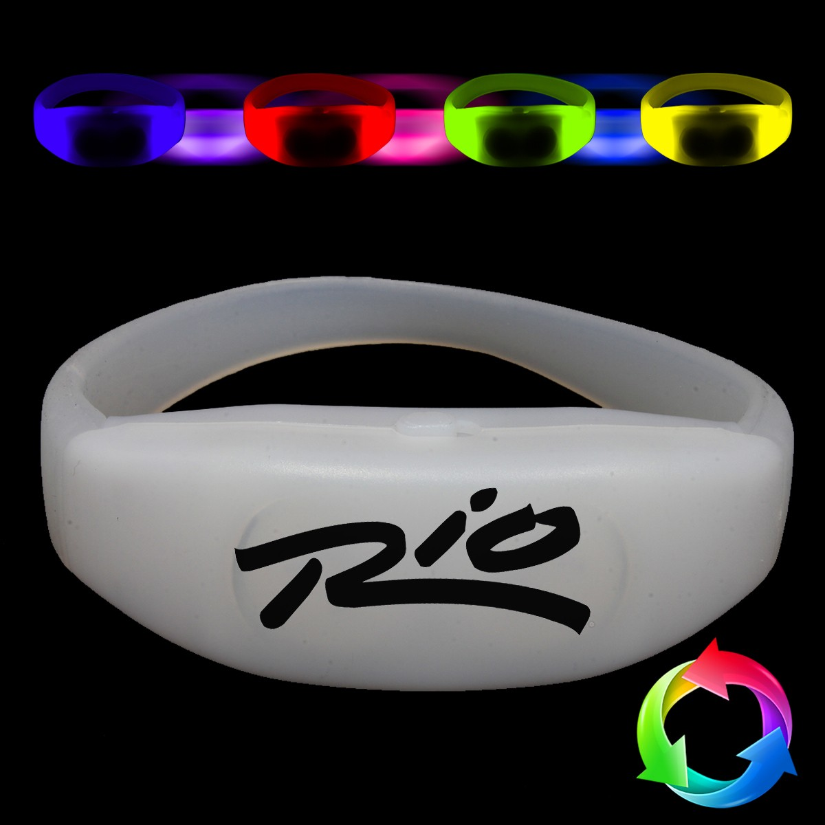 2nd Gen Flashing RF Concert Bracelet