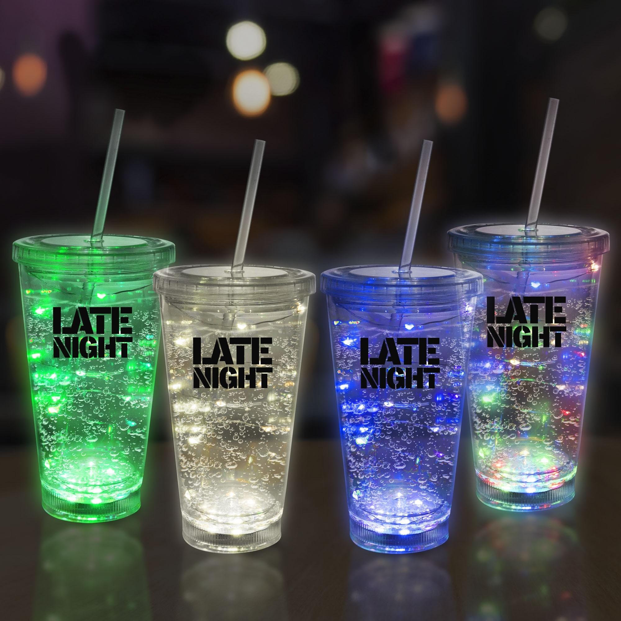 String Light 16oz LED Cup