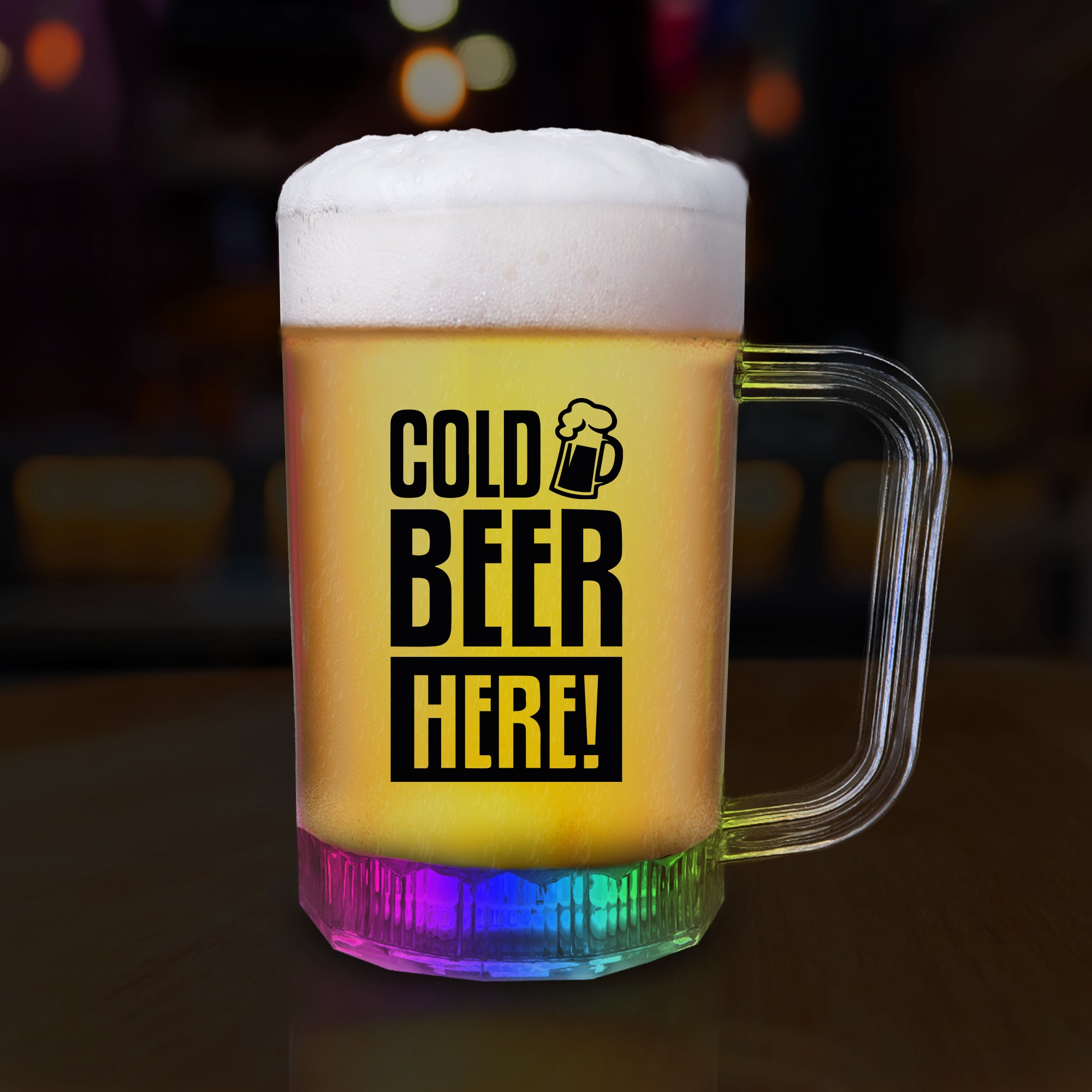 16oz LED Beer Mug