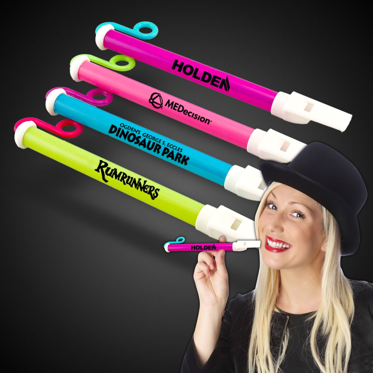 Plastic Slide Whistles