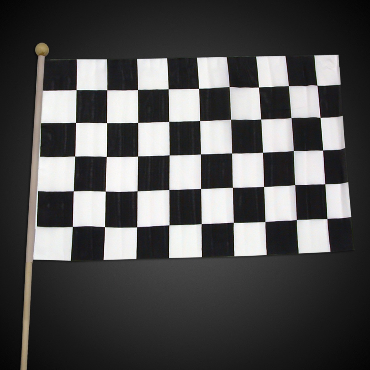Checkered Race Flag - 12 Inch by 18 Inch