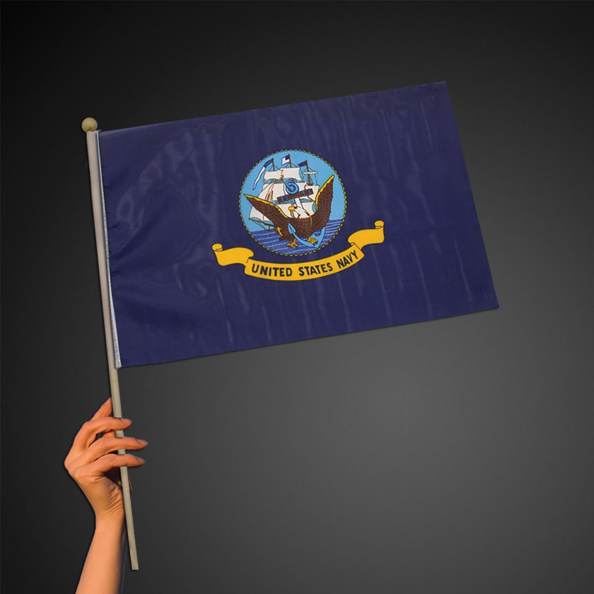 US Navy Flag - 12 Inch by 18 Inch