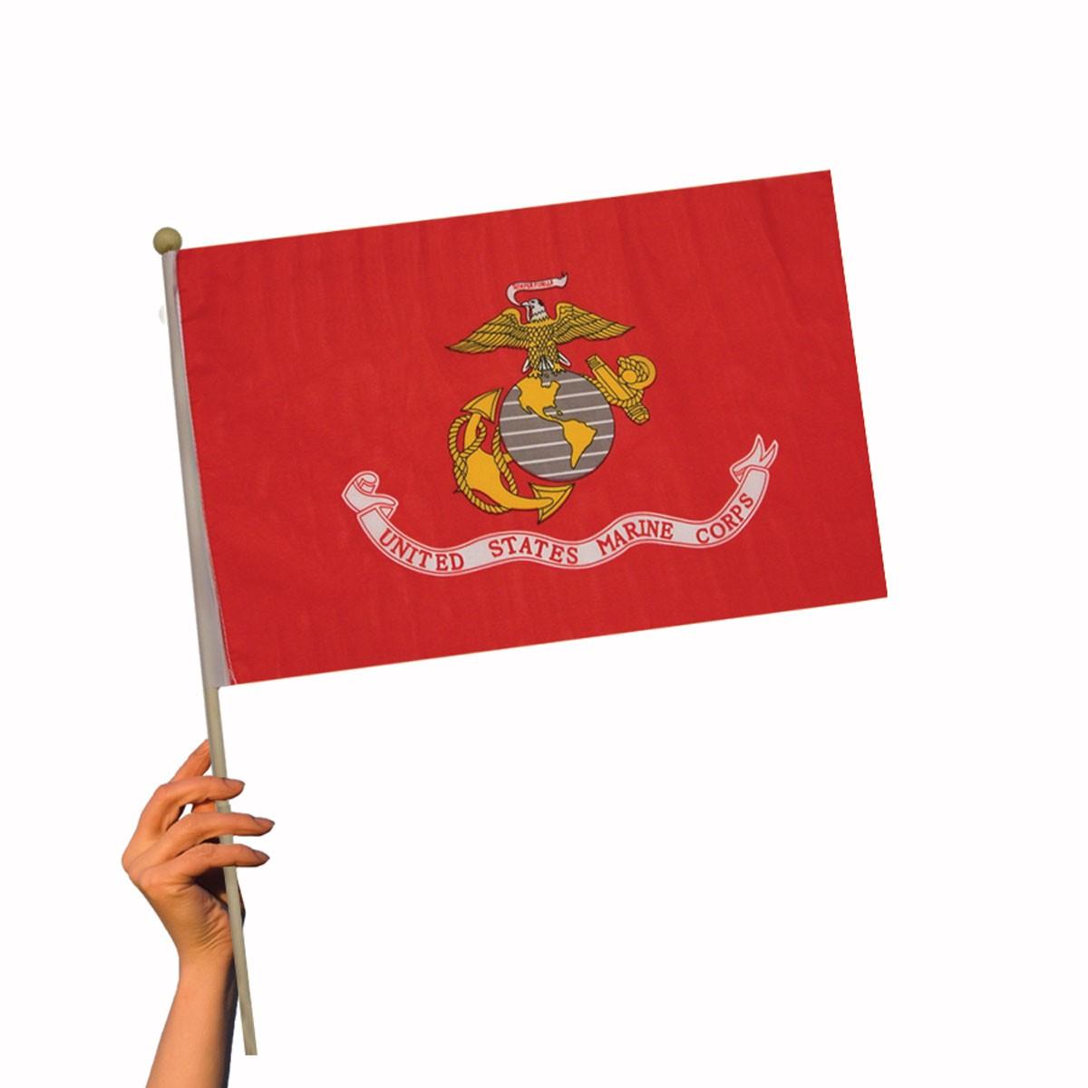 US Marine Flag - 12 Inch by 18 Inch