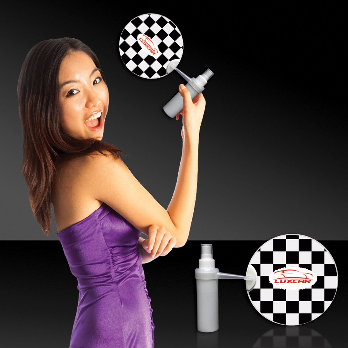 Checkered Flag Mist-R-Fan