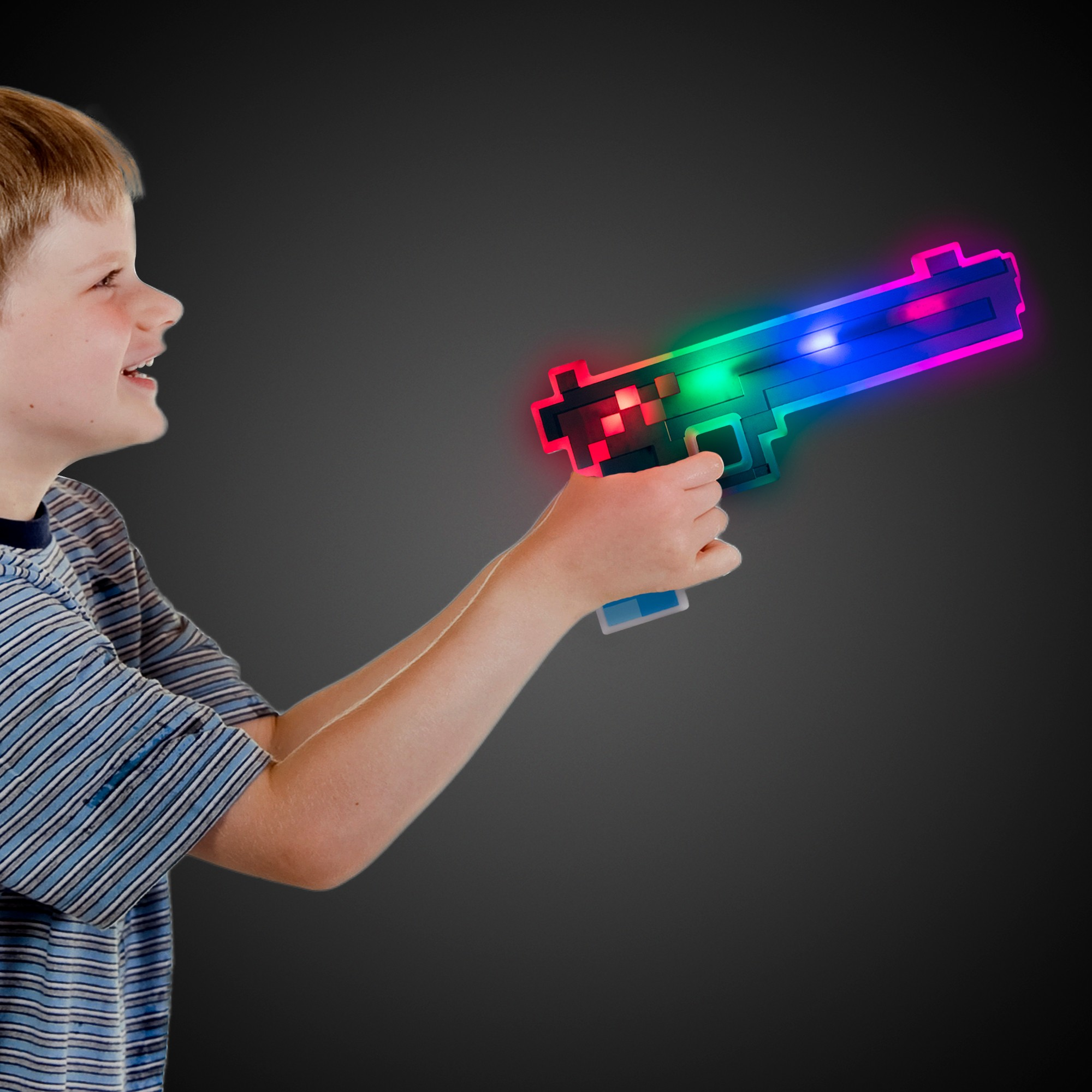 Blue/White LED Pixel Gun