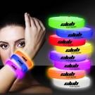 Deluxe Triple Wide 9 Inch Glow Bracelet