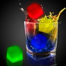 "1"" Assorted Colors Glowing Ice Cubes"