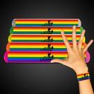 Rainbow Pride Slap Bracelet