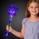 LED Silver Crown Wand