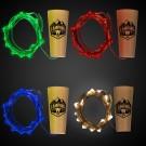 LED Cork String Light Set