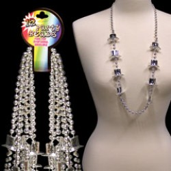 Silver Top Hat Beads