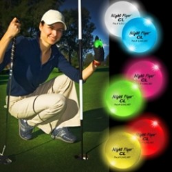Night Golf Balls Variety of Colors - Variety of Colors