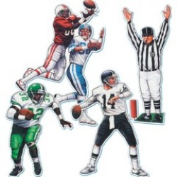 Football Player Cutouts