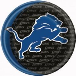 """Detroit Lions 9"""" Plates"""