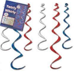 Patriotic Twirly Whirlys