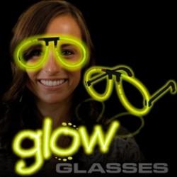Yellow Glow Eyeglasses