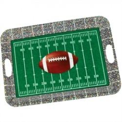 Football Field  Serving Tray
