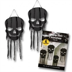 Black Skull  Hanging Decorations
