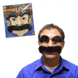 Mustache & Eyebrow  Disguise Set