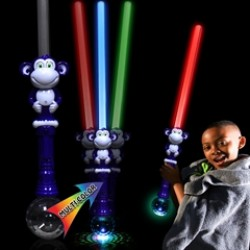 LED Monkey Sword with Prism