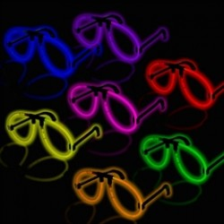 GLOW EYEGLASSES  (Available in a variety colors)