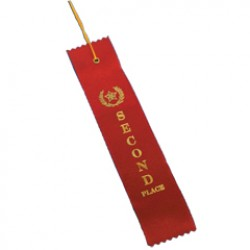 2nd PLACE RED RIBBON