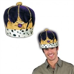 Purple Velvet Royal Crown