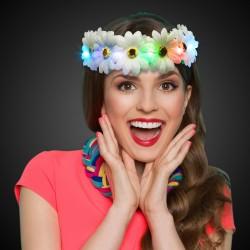 LED Flower Halo Headband