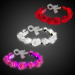 Roses LED Halo Headband