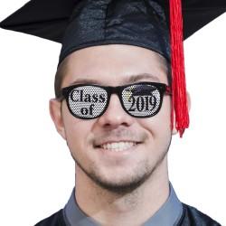 Class of 2019 Black Billboard Sunglasses