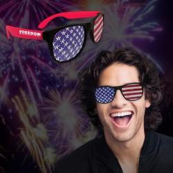 American Flag  Billboard Sunglasses
