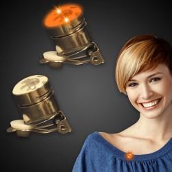 Orange Round LED Blinky