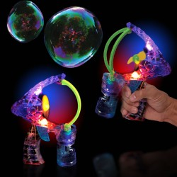 Super Duper Light Up Bubble Gun