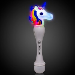 LED Unicorn Bubble Wand