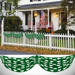 Shamrock Satin Bunting Decoration