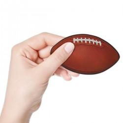 Mini Football Cutouts - 10 Per Unit