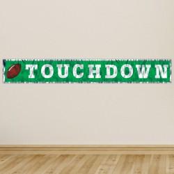 Football Touchdown Fringe Banner